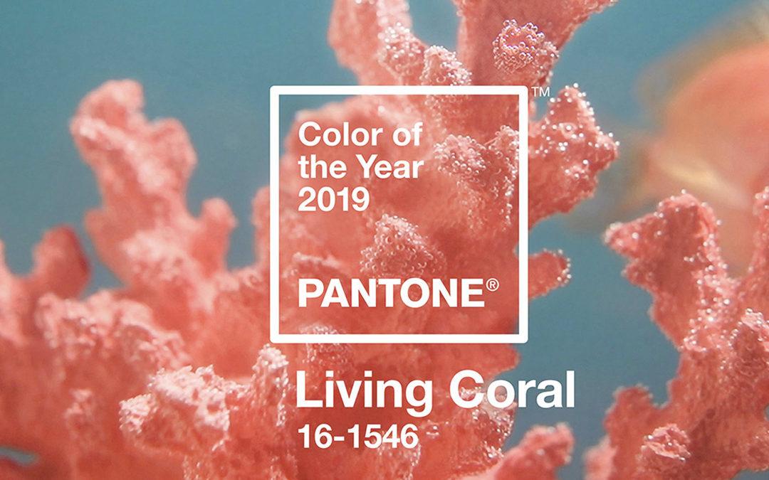 Living Coral : la couleur Pantone de l'année 2019