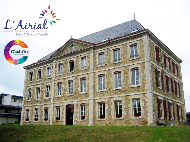 Association AIRIAL et le Château de Cauneille