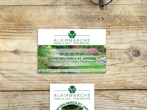 Jardinier Alain Marche