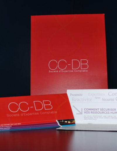 Plaquette commerciale du cabinet CC-DB