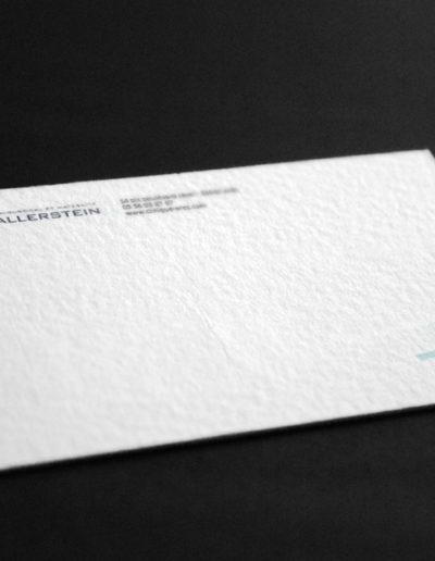 Déclinaison cartes de visite du CMC Wallerstein réalisée par l'agence de communication C'est d'ici C10i spécialisée en santé et bien-être