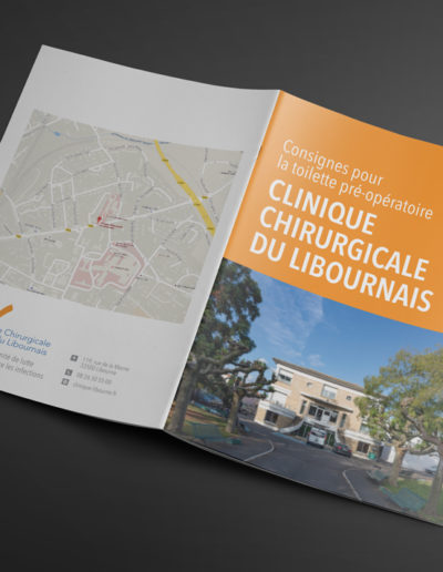 Réalisation du livre de la clinique chirurgicale du libournais par l'agence de communication c'est d'ici C10i spécialisée en santé à Bordeaux