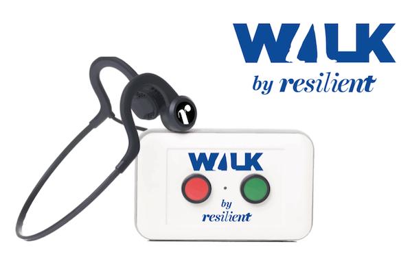 boitier de marche walk une réalisation de l'agence c'est d'ici communication santé à Bordeaux