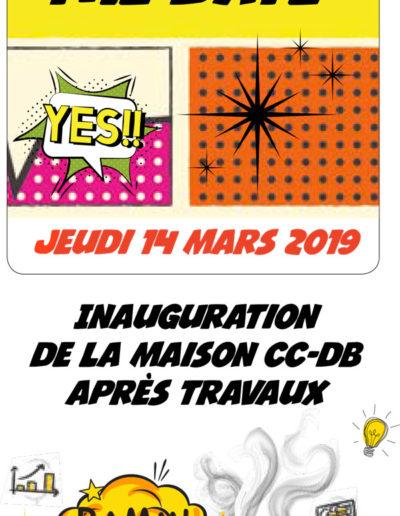 calendrier CCDB réalisé par l'agence c'est d'ici santé communication à Bordeaux