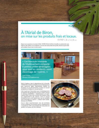 Etablisement l'Airial de Biron