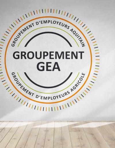 Réalisation du logo du Groupement GEA