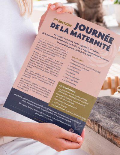 mockup-forum-reims-bezanne-polyclinique-maternite-journee-evenement-event-creation-redaction-impression-client-c10i-sante-communication-france-bordeaux